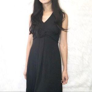LOFT Minimalist LBD soft & cool little black dress